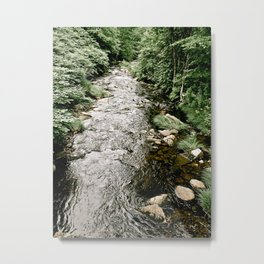 Flowing Stream Metal Print
