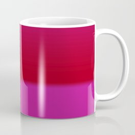 Red Pink Gradient Coffee Mug