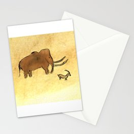 Mammoth and Antelope Stationery Cards