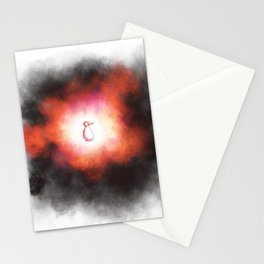 Beginning or Implosion Stationery Cards