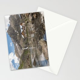 House on the Water in the Mountains Stationery Cards