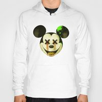 mickey Hoodies featuring Mickey by wrong planet