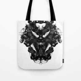 """""""Now, tell me what you see."""" Tote Bag"""