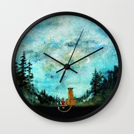 Calvin And Hobbes Wall Clock