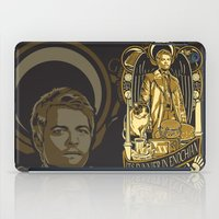 castiel iPad Cases featuring Castiel by Tracey Gurney