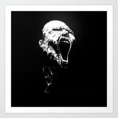 Scream 2 Art Print