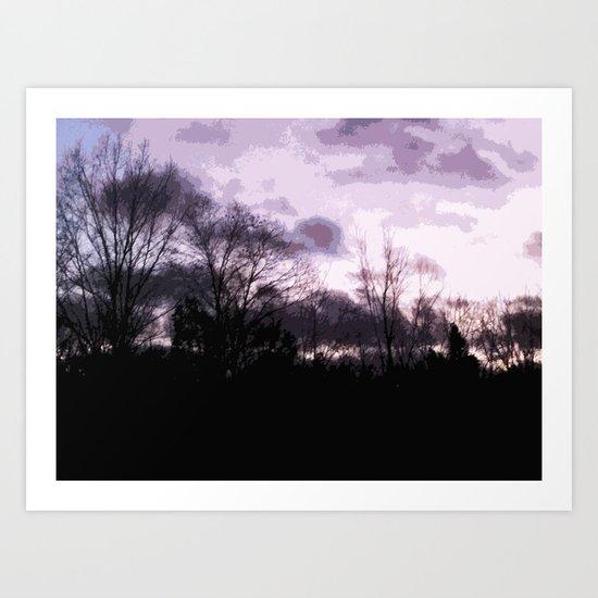 Sky;lines Art Print