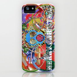 Xmas Card 01 iPhone Case