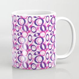 Oblong Pattern Coffee Mug