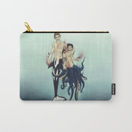 demon!orca!Dean and leviathan!octo!Cas Carry-All Pouch