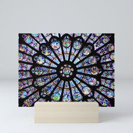 Cathedral Stained Glass Mini Art Print