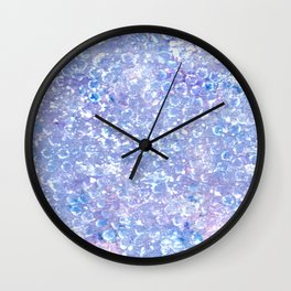 Crystallized Wall Clock