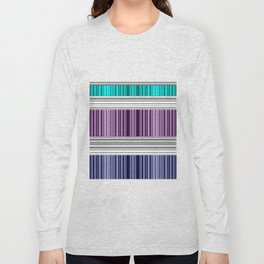 The colorful stripes . Long Sleeve T-shirt