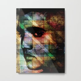 Elvis - The King Is Dead Metal Print