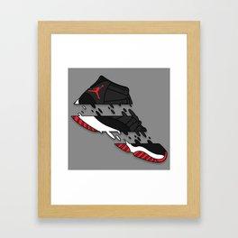 """11 """" BRED """" Framed Art Print"""