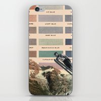 ski iPhone & iPod Skins featuring Ski by Sarah Brust