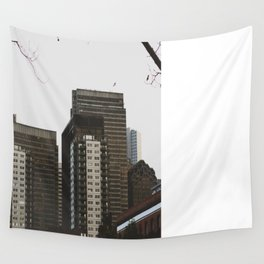 Buildings Wall Tapestry