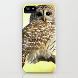 She sees right into the heart of me iPhone Case