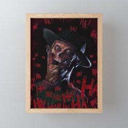 Faceless Freddy Framed Mini Art Print