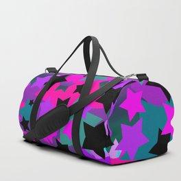Punk Rock Star Crazy Duffle Bag