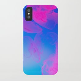 Pink Moon Glow iPhone Case