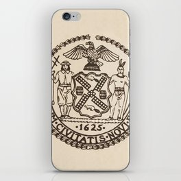 Seal of the City of New York iPhone Skin