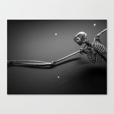 Gibbon Nightmares Canvas Print