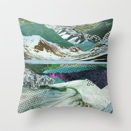 Experiment am Berg 14 Throw Pillow
