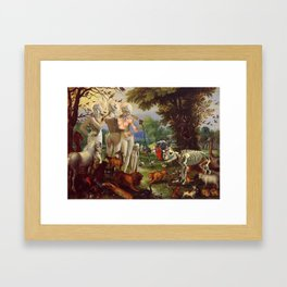 The Three Graces Framed Art Print