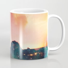 light speed - highway at sunrise Coffee Mug