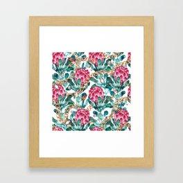 Glam Portea Framed Art Print
