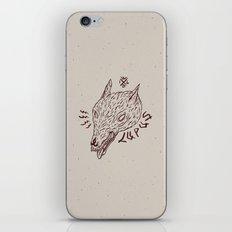 wildbeasts #3 - LUPUS iPhone & iPod Skin