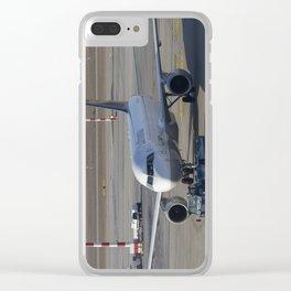Lufthansa Airbus A320-211 Clear iPhone Case