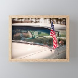 Classic American Framed Mini Art Print