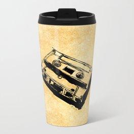 Retro Cassette Tape Travel Mug