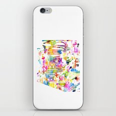 Typographic Arizona - Multi Watercolor iPhone & iPod Skin