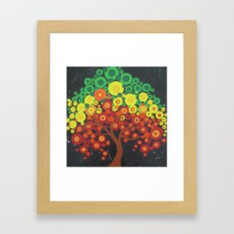 bubbles and fun! Framed Art Print