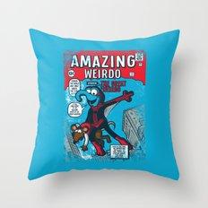 Amazing Wierdo Throw Pillow