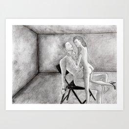 Hallelujah Lovers Art Print