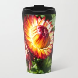 Helichrysum The Everlasting strawflower Travel Mug