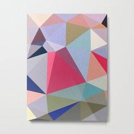 Colourful geometry Metal Print