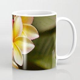 Elegant Simplicity is the Hawaiian Plumeria Coffee Mug
