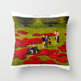 Love Is All Around Valentine Special Throw Pillow