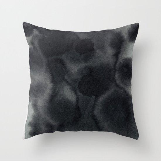 ink. Throw Pillow