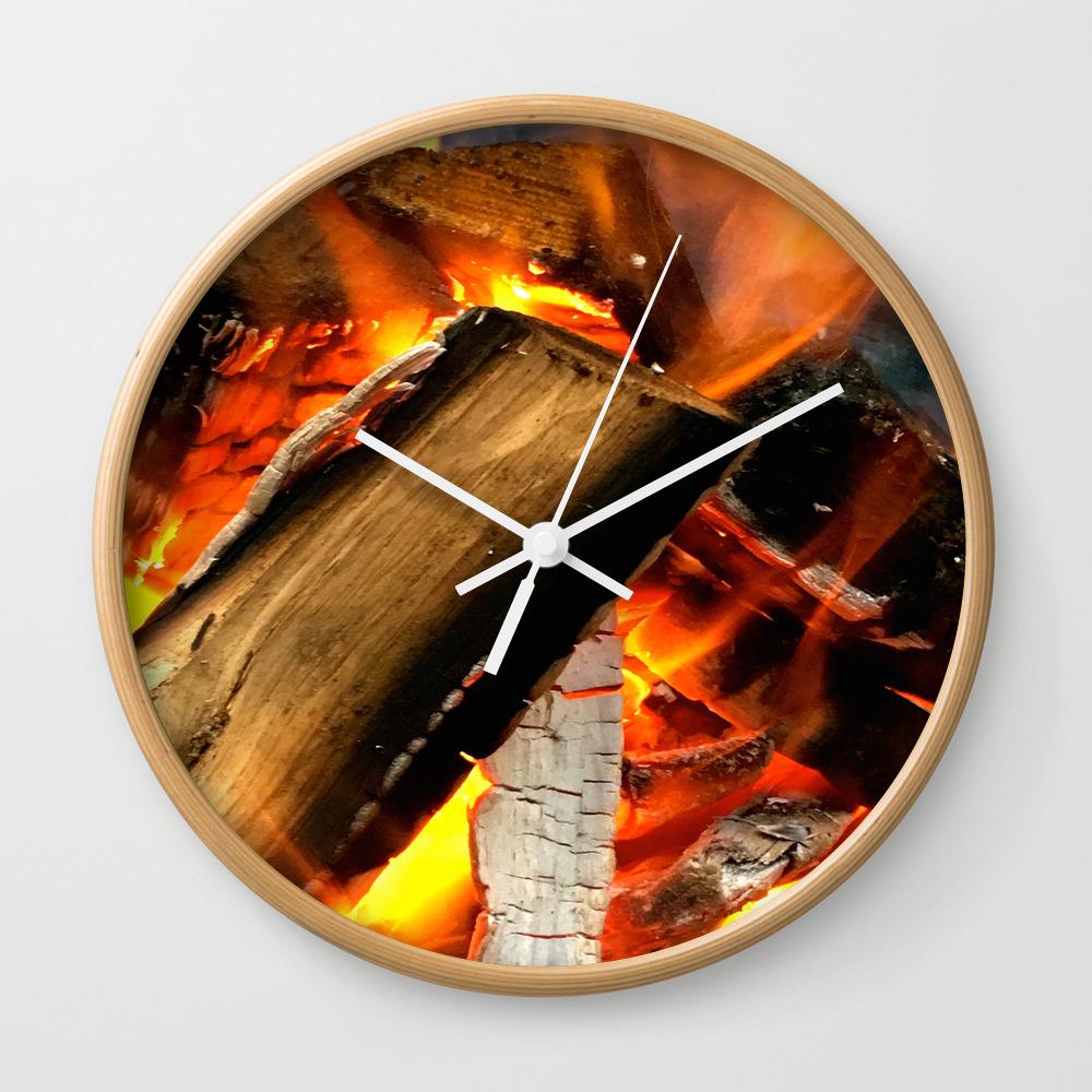 Burn Baby Wall Clock by Itscc4u33 CLK8005869