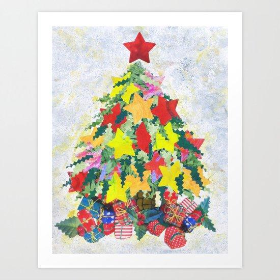 Santa's Work is Done Art Print