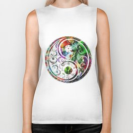 Yin and Yang Balance Poster Print by Robert R Biker Tank