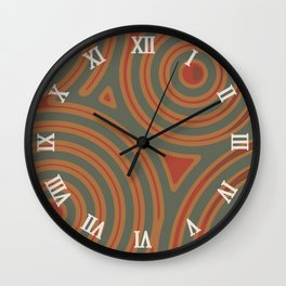 In a roundabout way IV Wall Clock