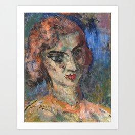 Eemu Myntti (1890-1943) Eva Bremer-Myntti Art Print