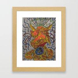 Bastet Framed Art Print